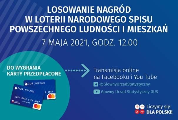Wójt Gminy Paszowice zachęca do samospisu, rejestracji kodów i wygrywania w loterii spisowej!
