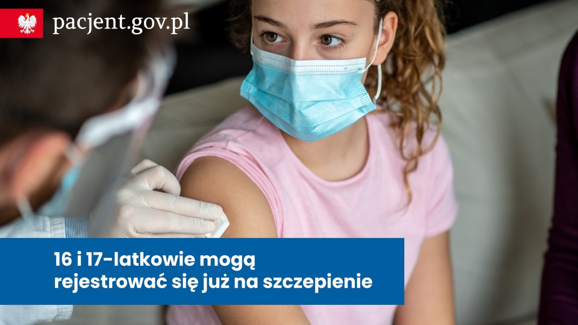 Rejestracja osób chętnych na szczepienia.