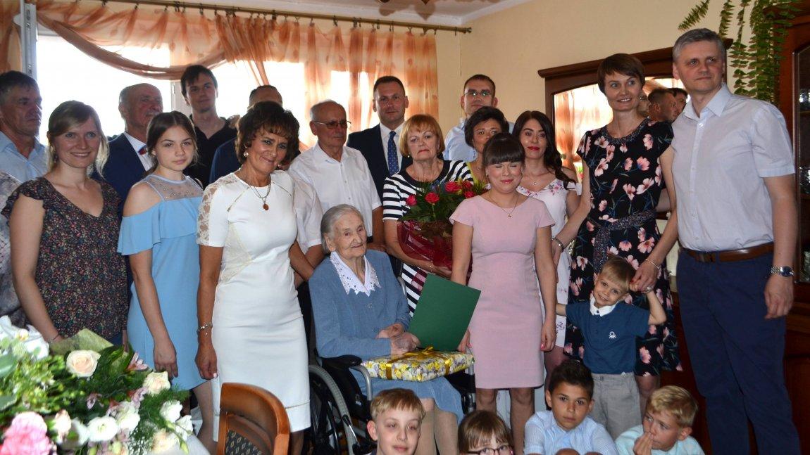 Janina Dygas – najstarszą mieszkanką Paszowic