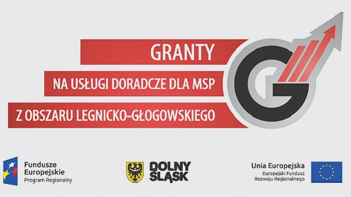Granty na usługi doradcze dla MSP z Obszaru Legnicko-Głogowskiego