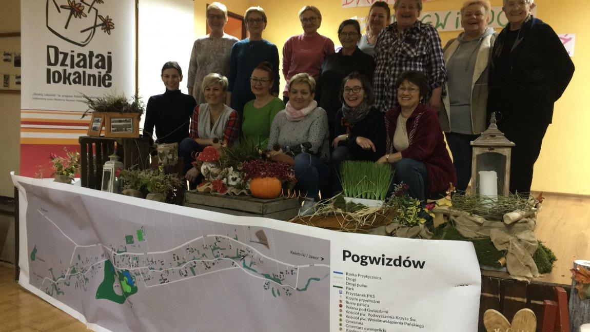 KGW Pogwizdów podsumowało projekt z Działaj Lokalnie