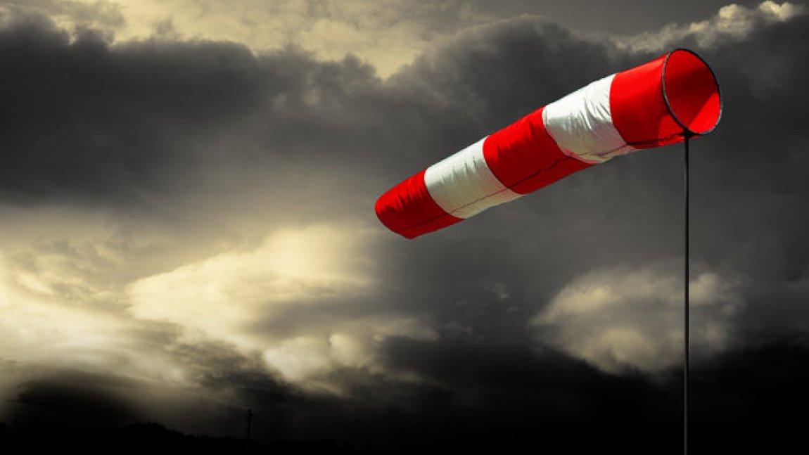 Uwaga na silny wiatr!