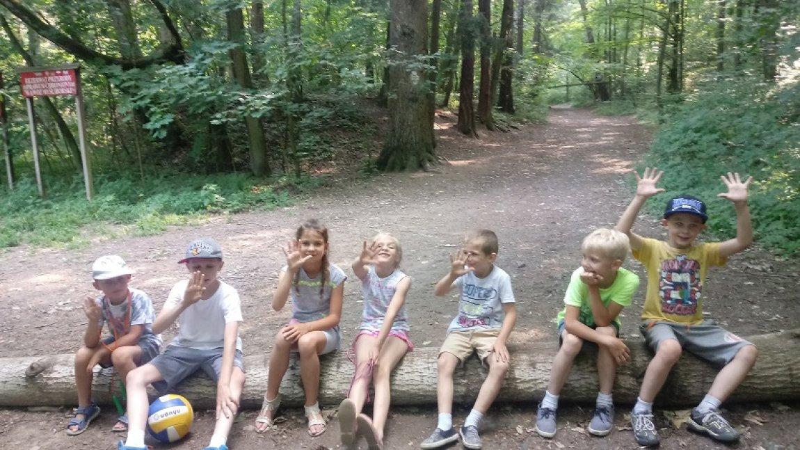 Dzieci ze świetlicy w Myśliborzu